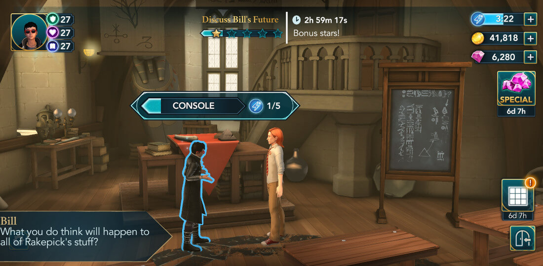 Harry Potter Hogwarts Mystery Walkthrough Year 5 Chapter 33