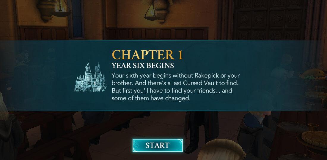 Harry Potter Hogwarts Mystery Walkthrough Year 6 Chapter 1
