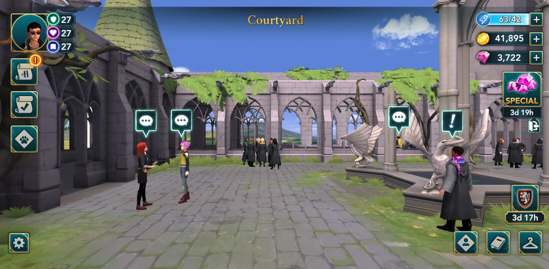 Harry Potter Hogwarts Mystery Walkthrough Year 6 Chapter 2