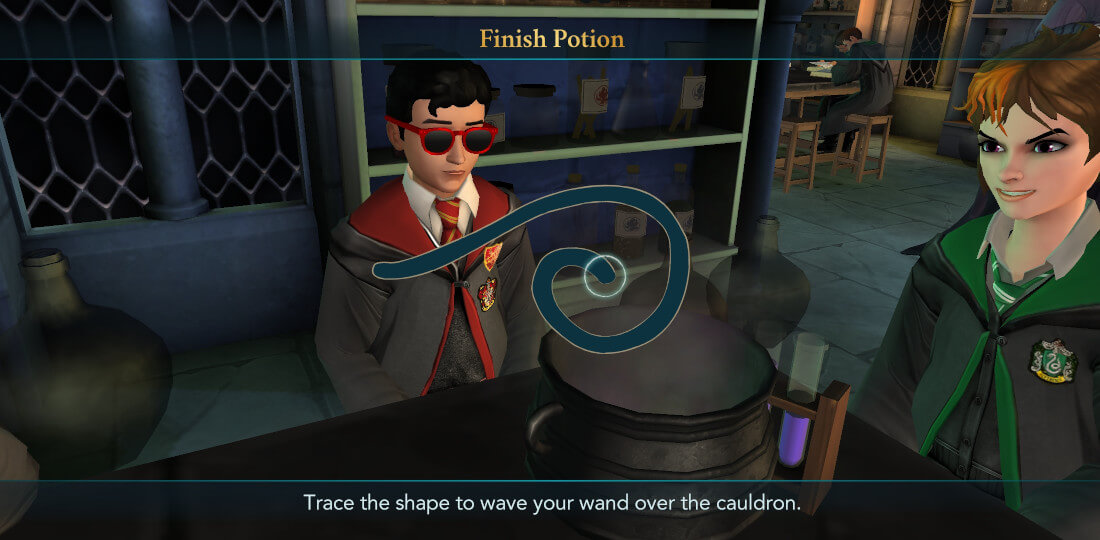 Harry Potter Hogwarts Mystery Walkthrough Year 6 Chapter 3
