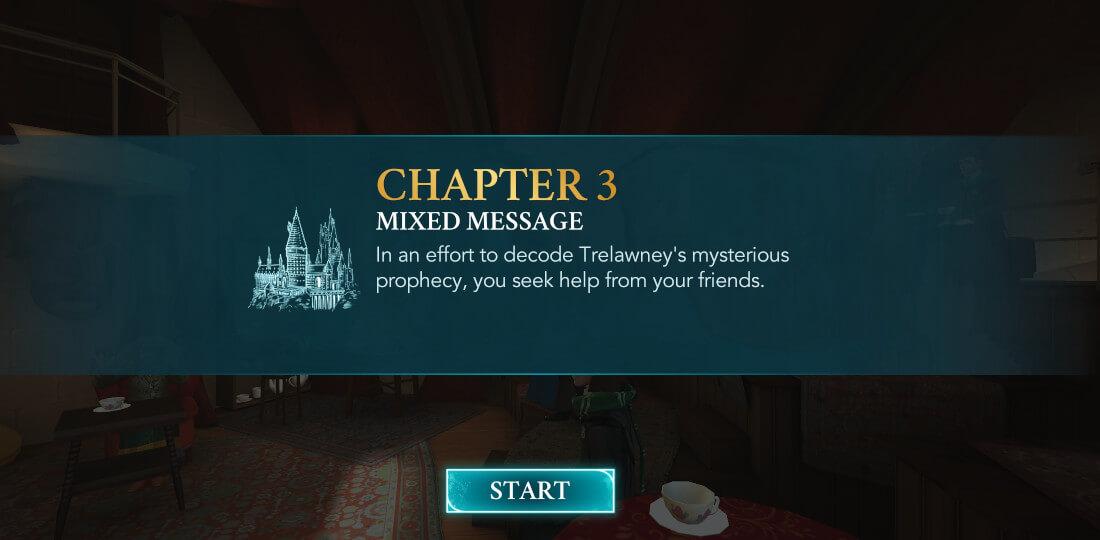 Harry Potter Hogwarts Mystery Walkthrough Year 6 Chapter 3