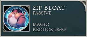 AoV Zip Passive Zip Bloat