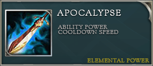 Arena of valor item apocalypse