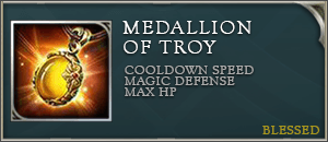 Arena of valor item medallion of troy