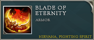 Arena of valor items blade of eternity