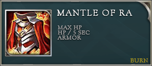 Arena of valor items mantle of ra