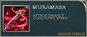 Arena of valor items muramasa