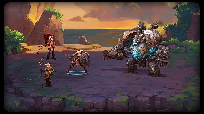 Battle Chasers Nightwar Gameplay