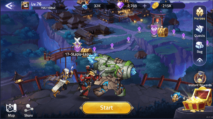 Mobile Legends Adventure guide campaign