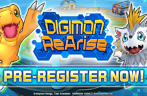 Digimon ReArise pre-registration