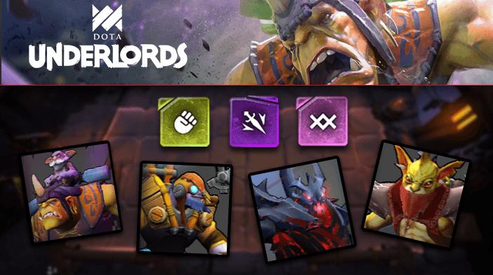 Dota Underlords Scrappy Assassin Warlock Build featured