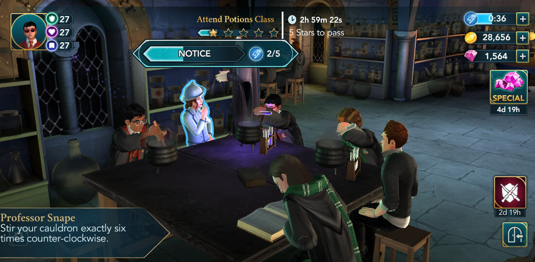 Harry Potter Hogwarts Mystery Walkthrough Hosting the Beauxbatons Part 1