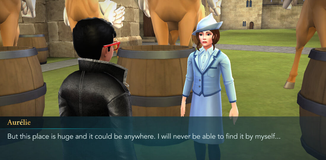 Harry Potter Hogwarts Mystery Walkthrough Hosting the Beauxbatons Part 3