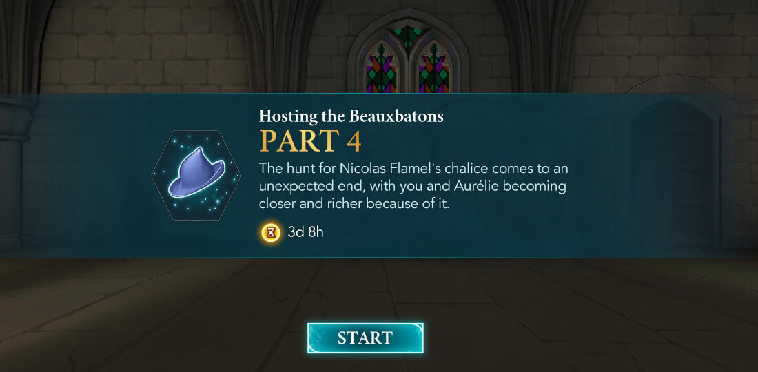 Harry Potter Hogwarts Mystery Walkthrough Hosting the Beauxbatons Part 4