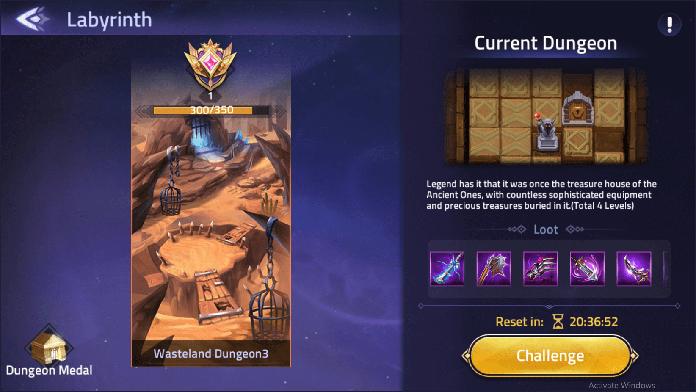 mobile legends adventure Labyrinth guide