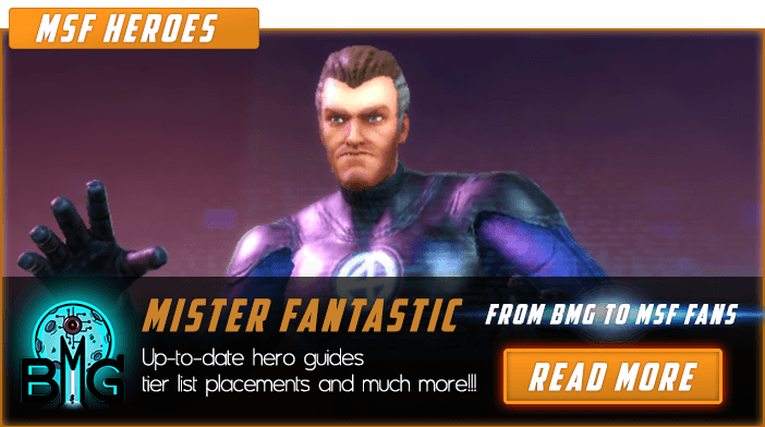 Marvel Strike Force Mister Fantastic