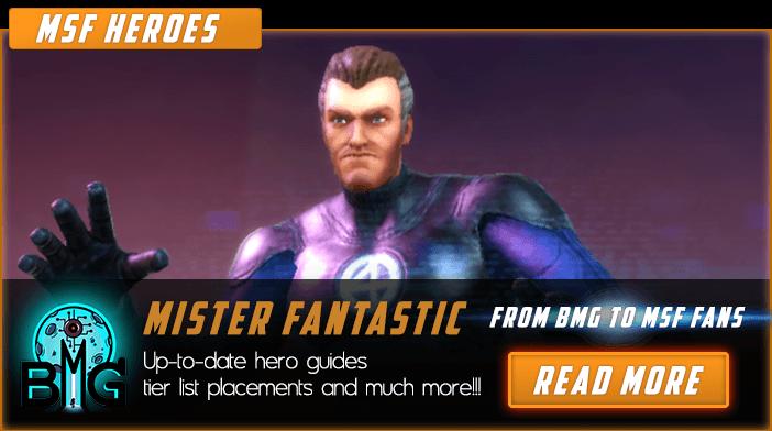 Marvel Strike Force Mister Fantastic