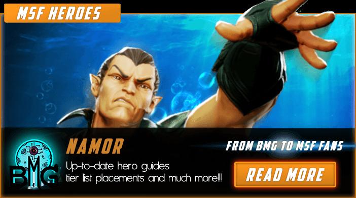 Marvel Strike Force Namor