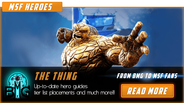 Marvel Strike Force The Thing