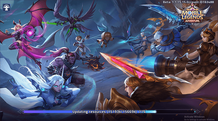 Mobile Legends Loading Screen