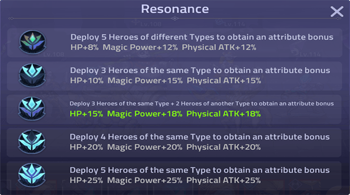Mobile Legends Adventure Resonance