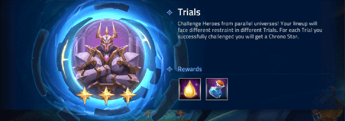 mobile legends adventure Trials