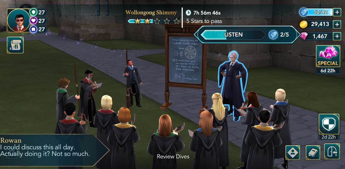 Harry Potter Hogwarts Mystery Walkthrough Year 6 Chapter 4