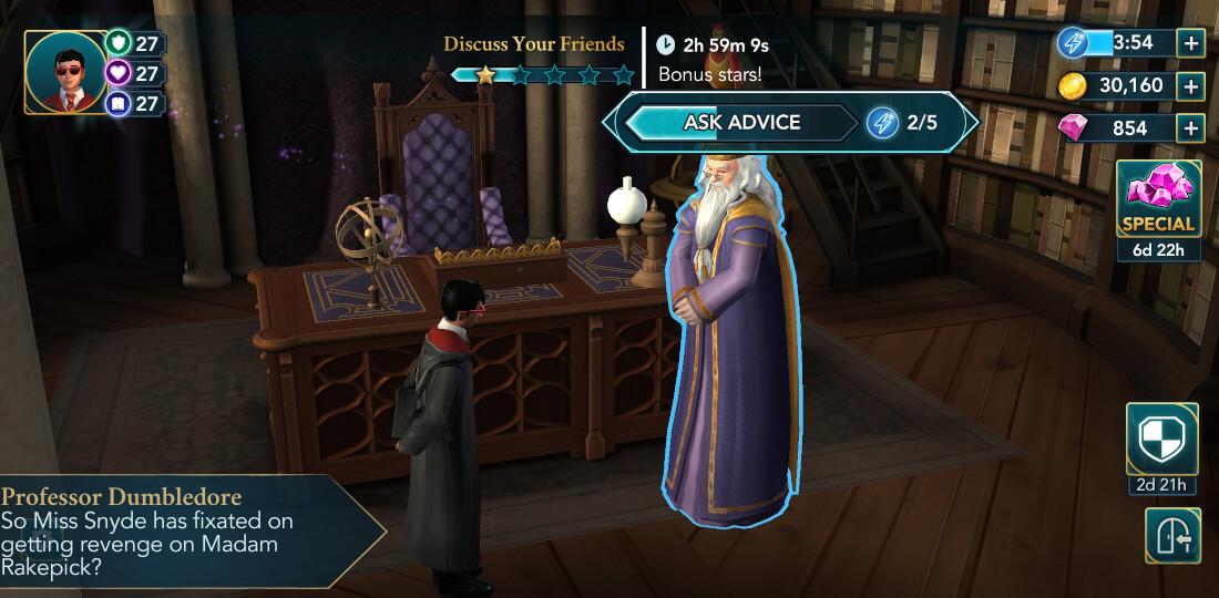 Harry Potter Hogwarts Mystery Walkthrough Year 6 Chapter 4