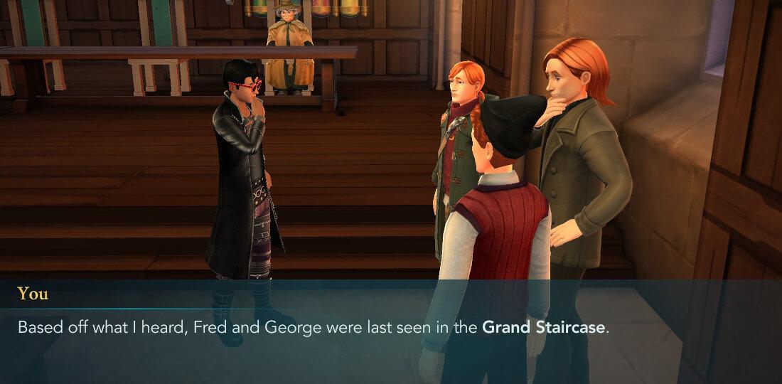 Harry Potter Hogwarts Mystery Walkthrough Year 6 Chapter 5