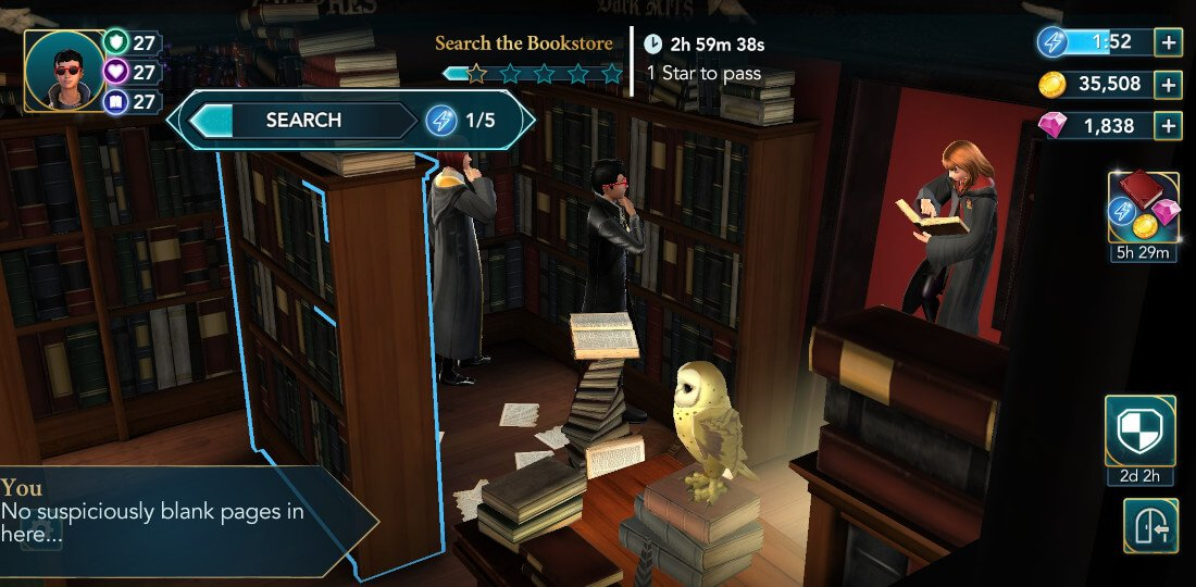 Harry Potter Hogwarts Mystery Walkthrough Year 6 Chapter 6