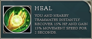 aov talents heal