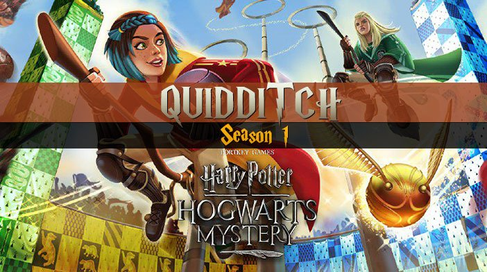 Harry Potter Hogwarts Mystery Quidditch Season 1