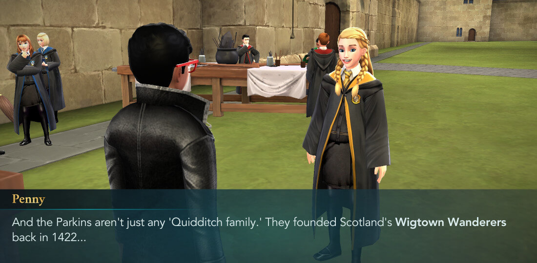 Harry Potter Hogwarts Mystery Quidditch Season 1 Chapter 1