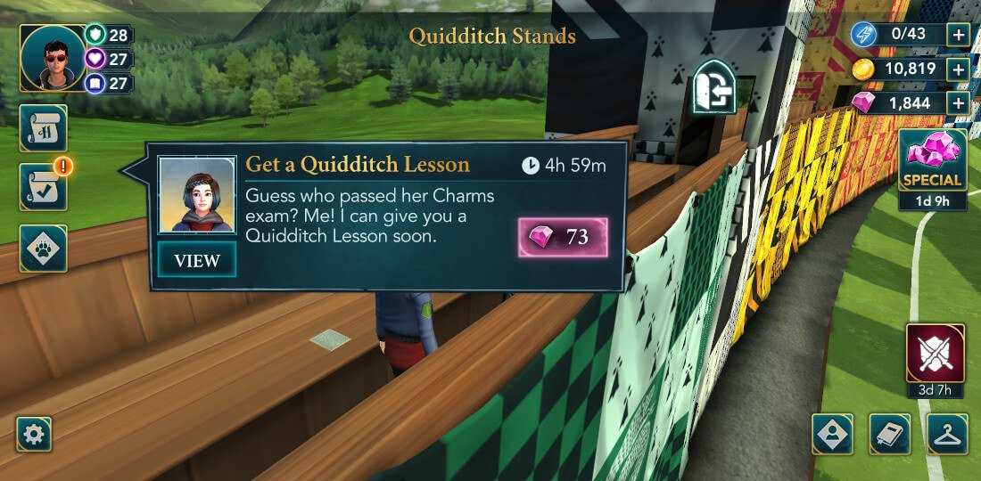 Harry Potter Hogwarts Mystery Quidditch Season 1 Chapter 2