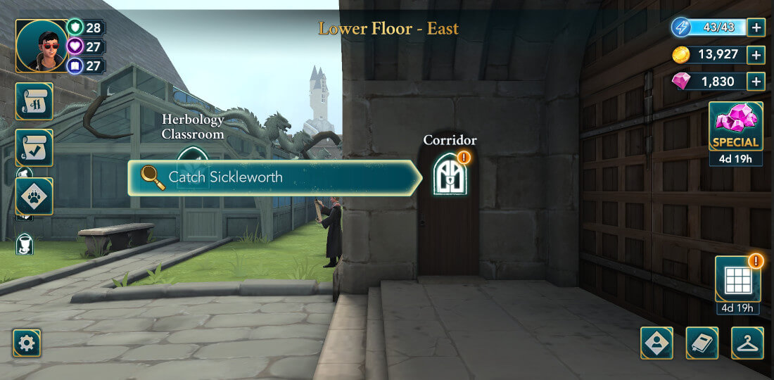 Harry Potter Hogwarts Mystery Walkthrough Year 6 Chapter 7