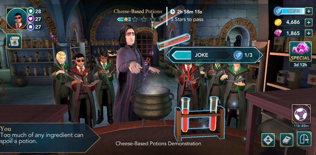Harry Potter Hogwarts Mystery Walkthrough Year 6 Chapter 8