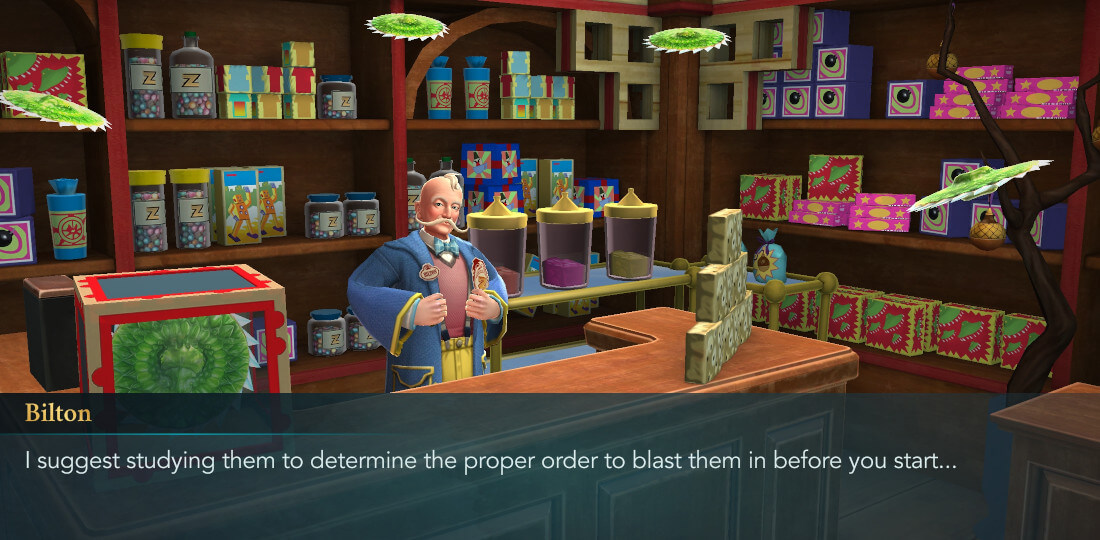Harry Potter Hogwarts Mystery Walkthrough Year 6 Chapter 8