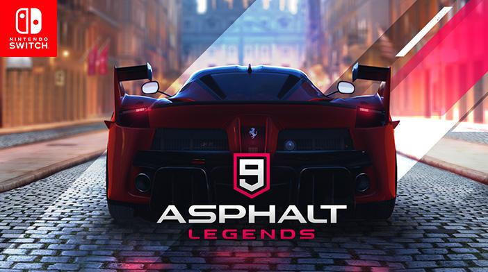 Asphalt 9 Legends Switch