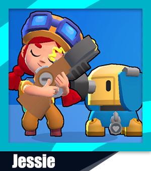 Brawl Stars Jessie