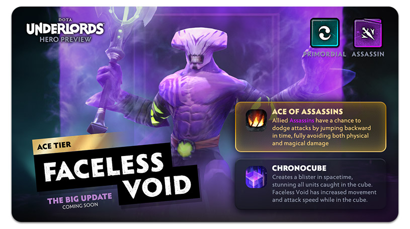 Dota Underlords Update Faceless Void