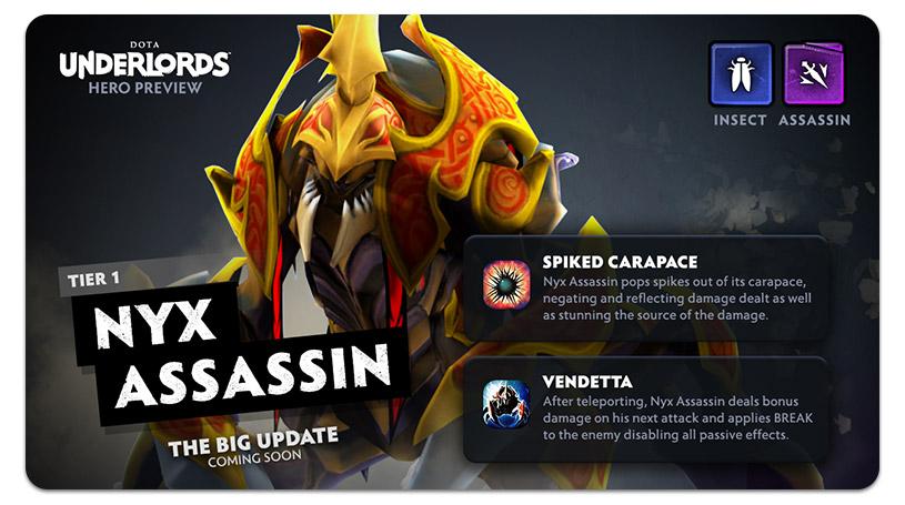 Dota Underlords Update Nyx Assassin