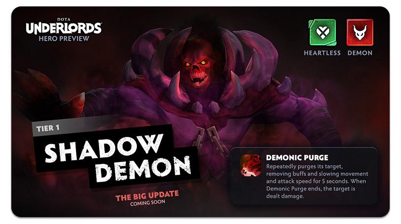 Dota Underlords Update Shadow Demon