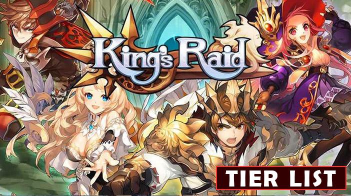 Kings Raid Tier List