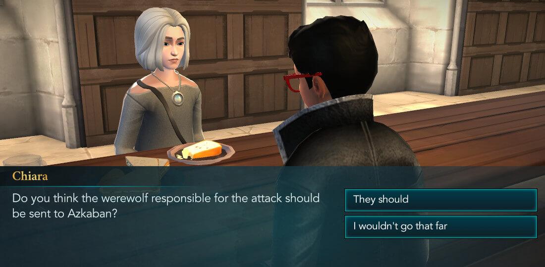 Harry Potter Hogwarts Mystery Walkthrough Lone Wolf Part 1