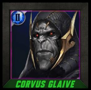Marvel Future Fight Corvus Glaive - Universal