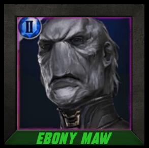 Marvel Future Fight Ebony Maw - Universal