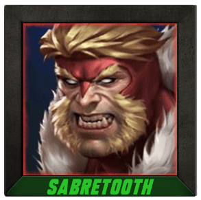 Marvel Future Fight Sabretooth - Combat