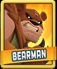 Rush Wars Bearman
