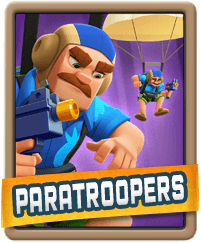 Rush Wars Paratroopers