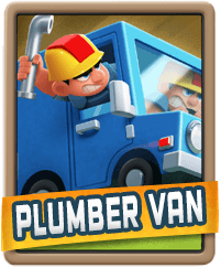 Rush Wars Plumber Van